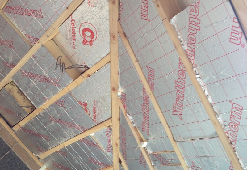 Roof insulation extension crosby
