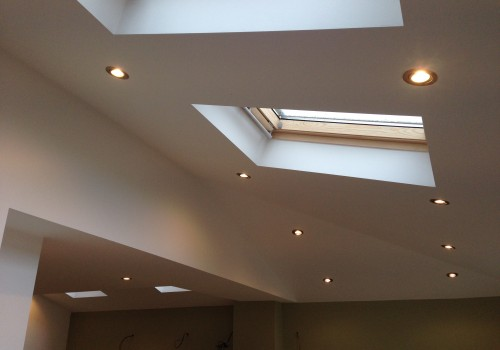 Finished inside roof crosby extension