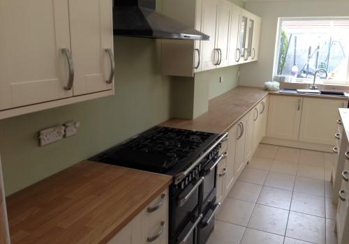Kitchen worktop extension crosby
