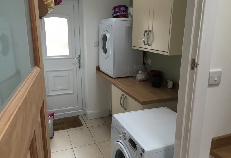 back of kitchen wrap around crosby