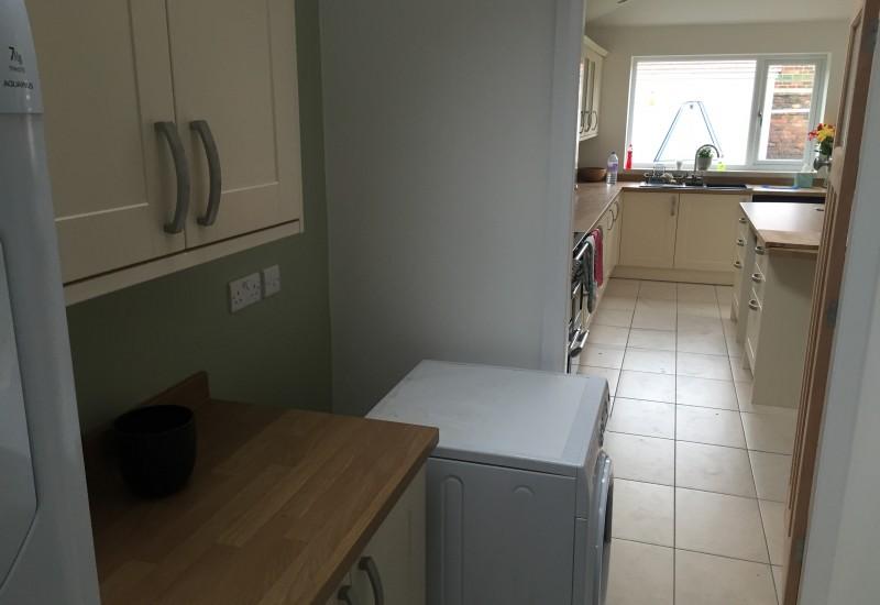Kitchen side corridor wrap around crosby