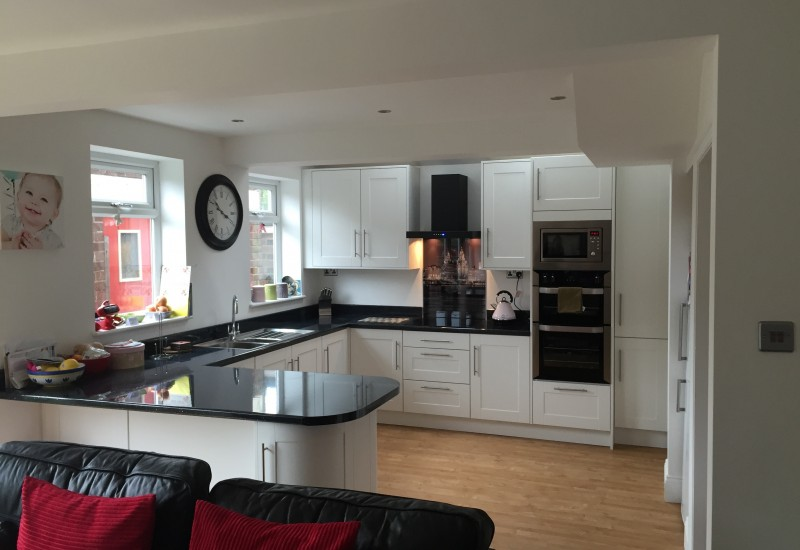 Full Kitchen view Crosby