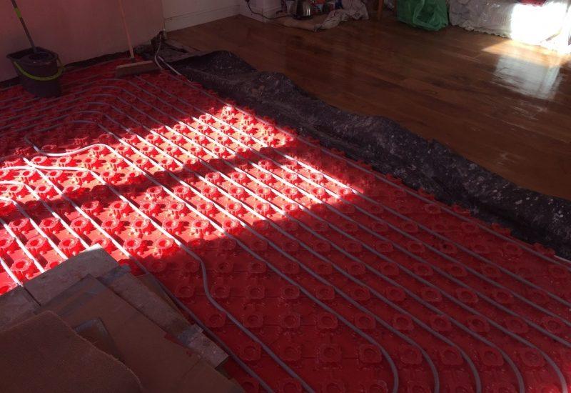 Underfloor heating Merseyside | LJP Builders