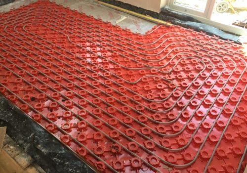 Underfloor heating | LJP Builders