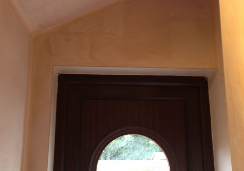 Above door plastering Childwall