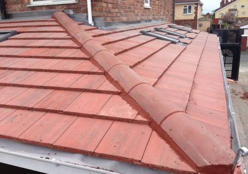 Completed roof Wrap around extension Liverpool