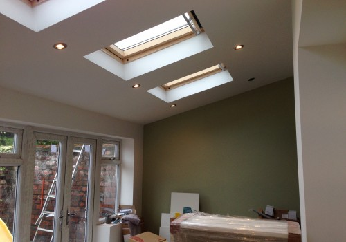Roof LED lights installed Crosby Extension