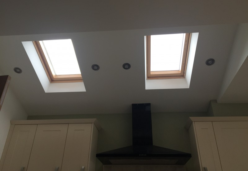 Roof skylights and cooker extension crosby