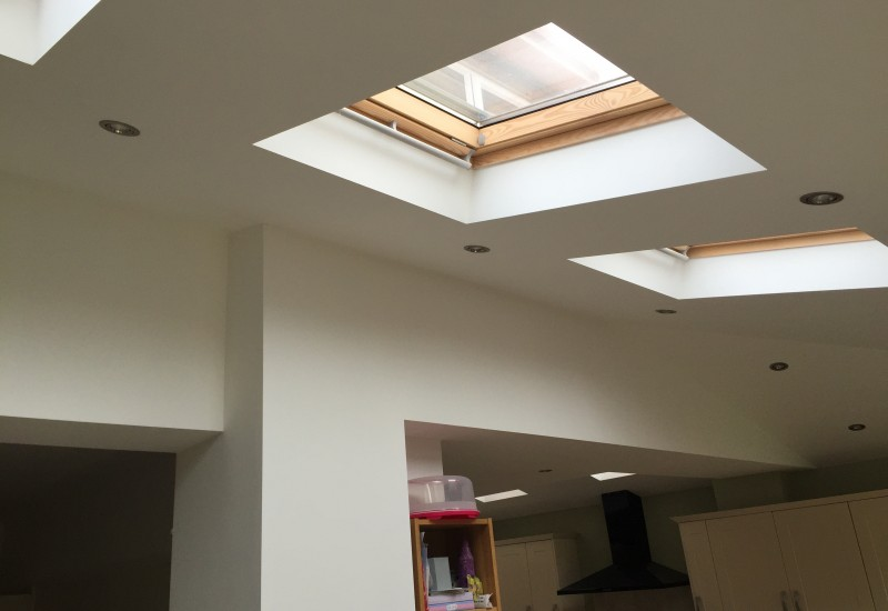 Skylights Wrap Around
