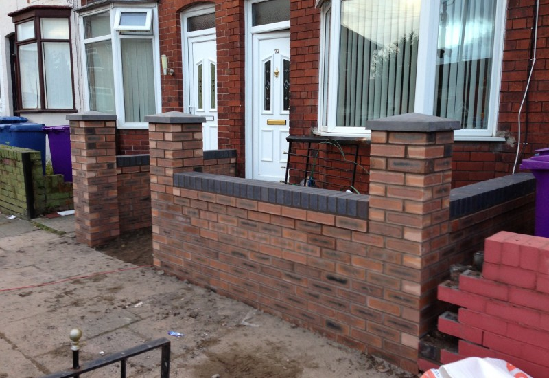 Wall Structure Complete Aintree