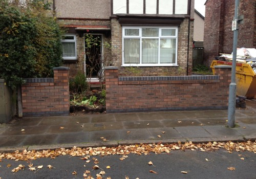 Complete Garden Wall Aintree with Entry