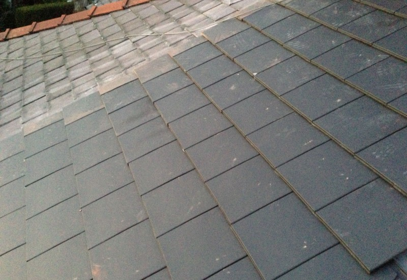 Tiles set Aintree new Roof