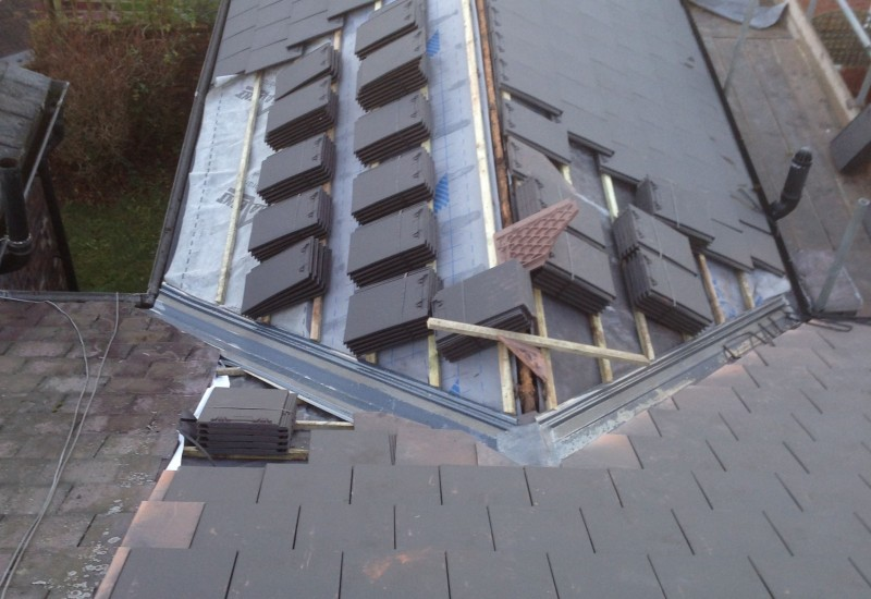 Tiles ready new roof Aintree