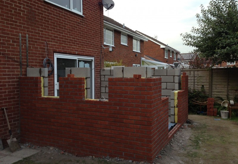 half way through walls orangery congleton