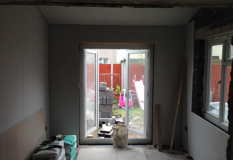 Plastering Netherton Extension