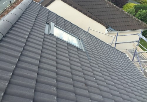Side view of skylight Maghull