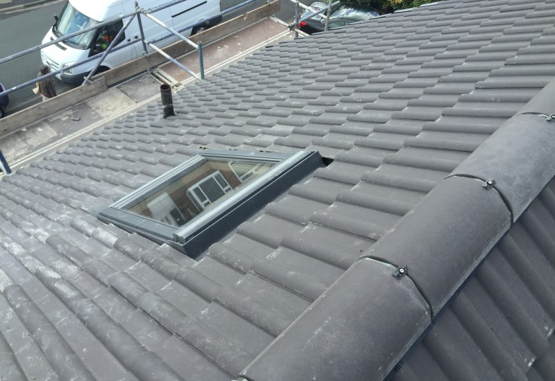 Bird's Eye View Of new roof Maghull