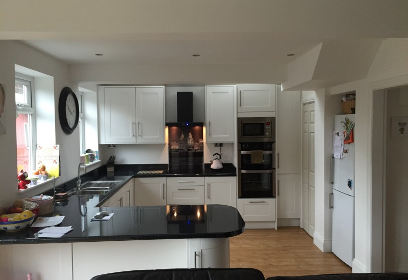 Kitchen island and cooker Crosby Extension