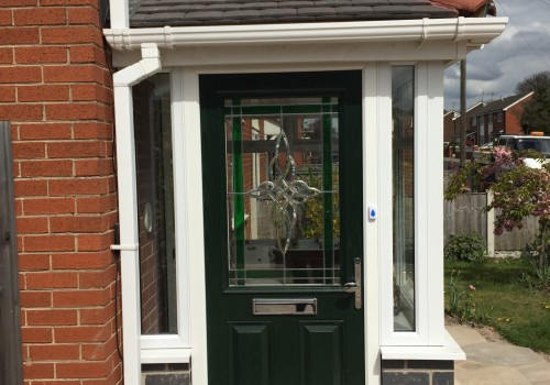 outside image of new porch Bootle