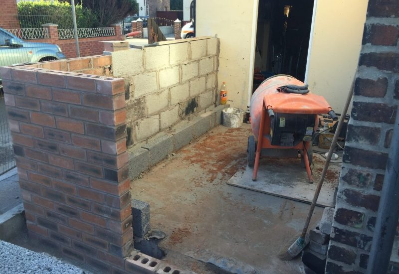 Brickwork in Liverpool - LJP Builders
